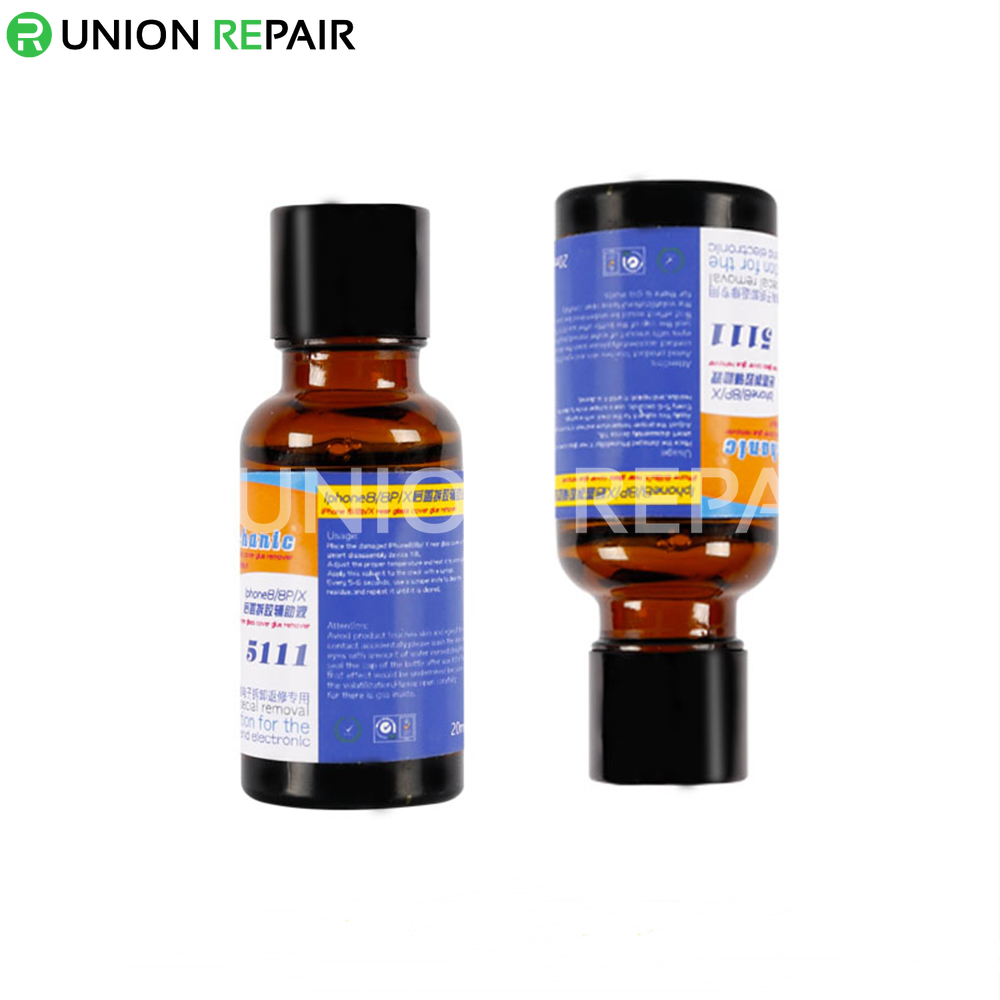 Mechanic 5111 Rear Glass Cover Glue Remover 20ml for iPhone X