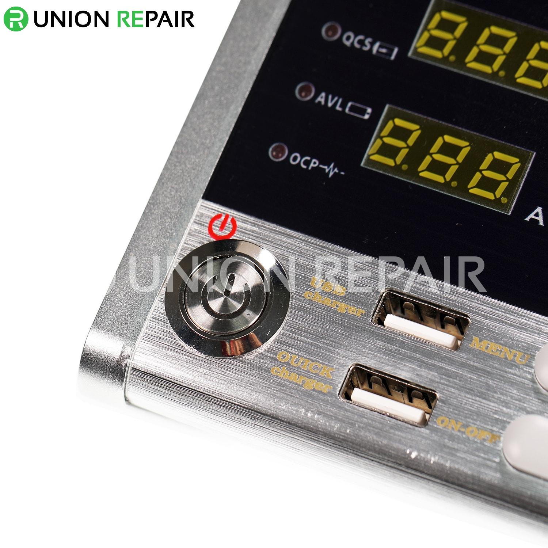 HR1203 Cellphone Repairs Intelligent 3A Current Oscilloscope Power Meter