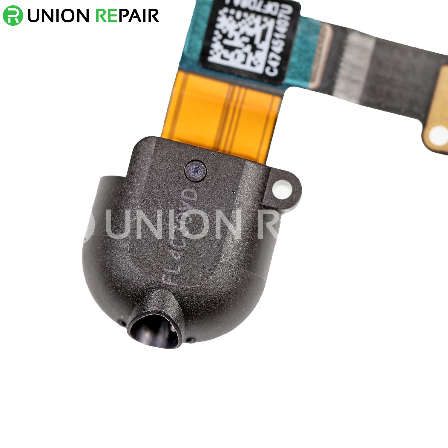 Replacement for iPad 5 Audio Earphone Jack Flex Cable - Black