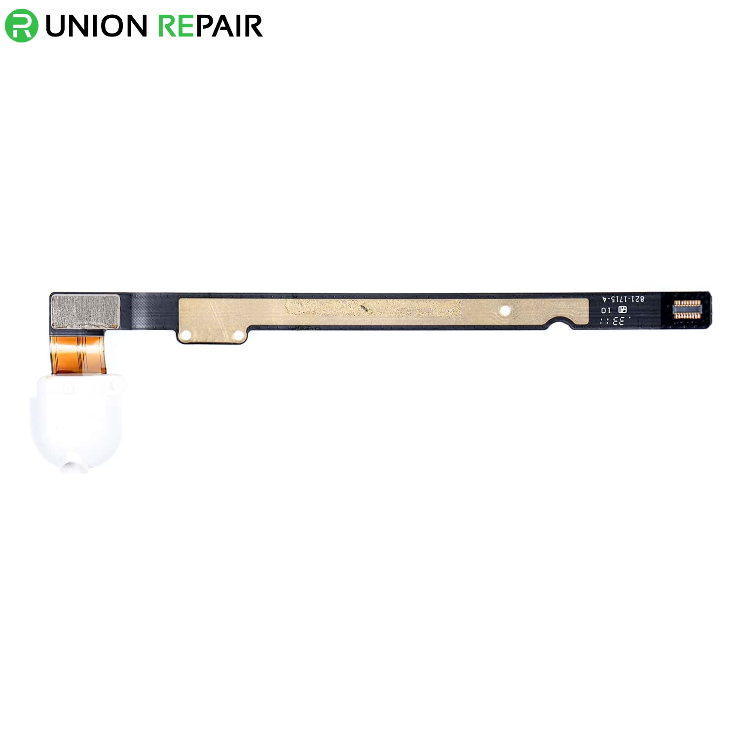 Replacement for iPad 5 Audio Earphone Jack Flex Cable - White