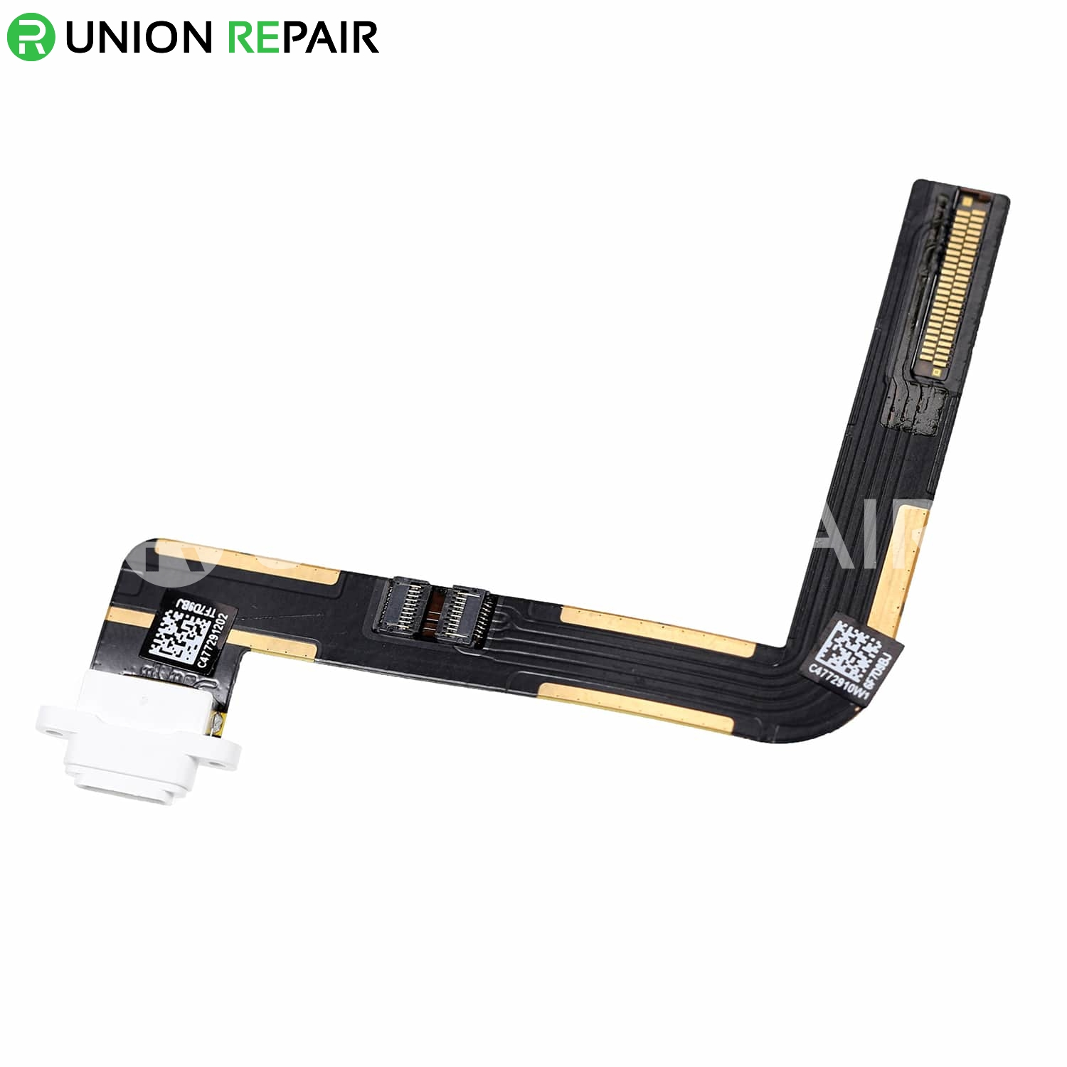 Replacement for iPad 6 Dock Connector Flex Cable - White