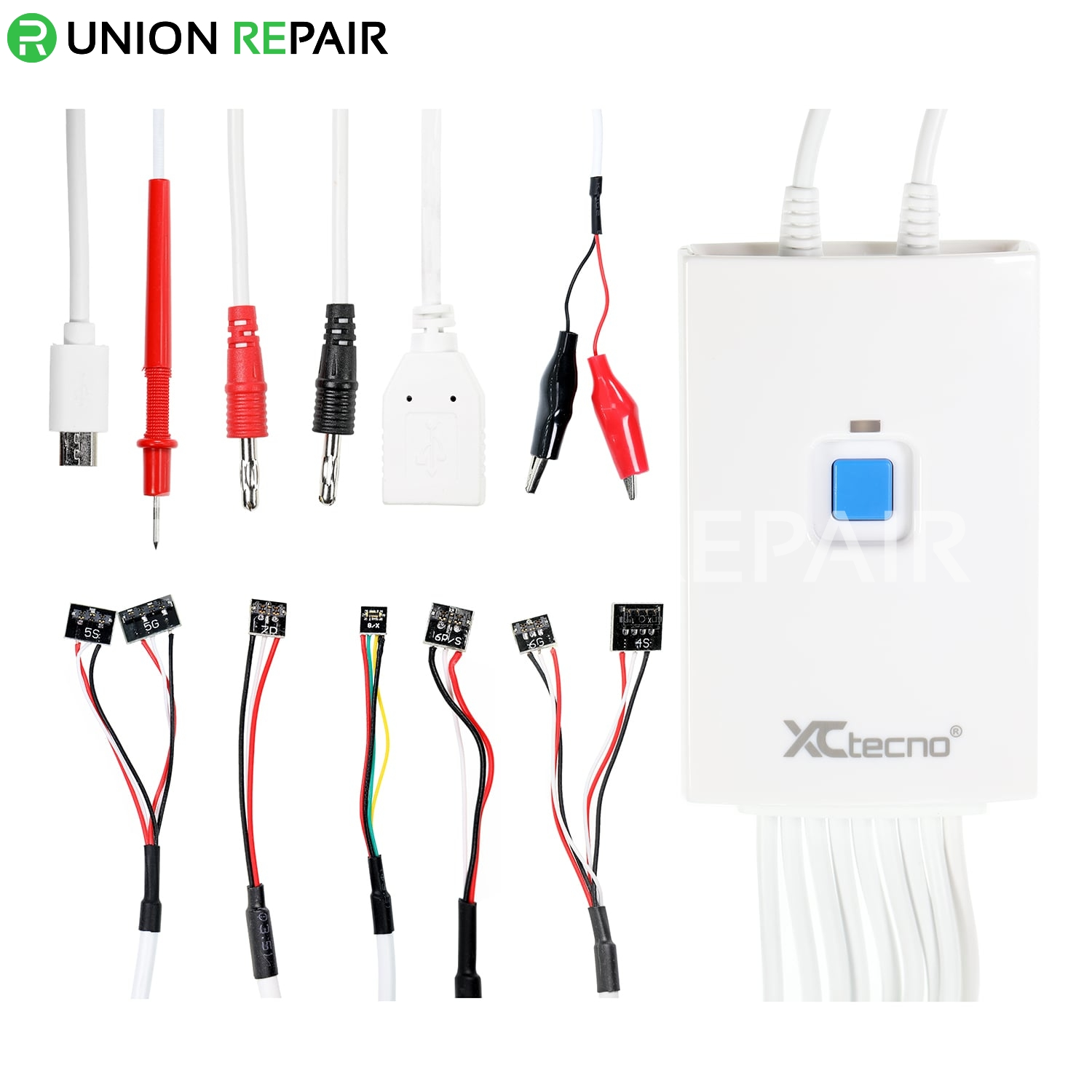 K-100A Phone Power Line with Original Battery Chip Inside for iPhone 4-X