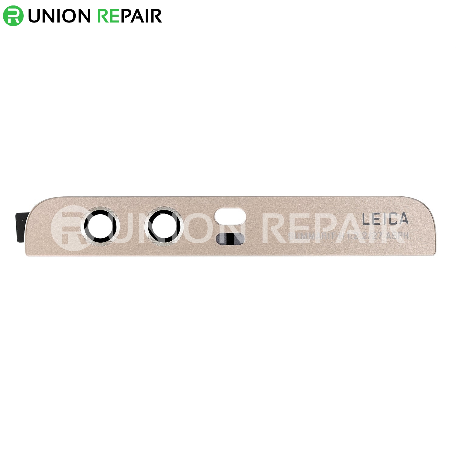 Replacement for Huawei P10 Plus Top Back Glass Cover - Gold