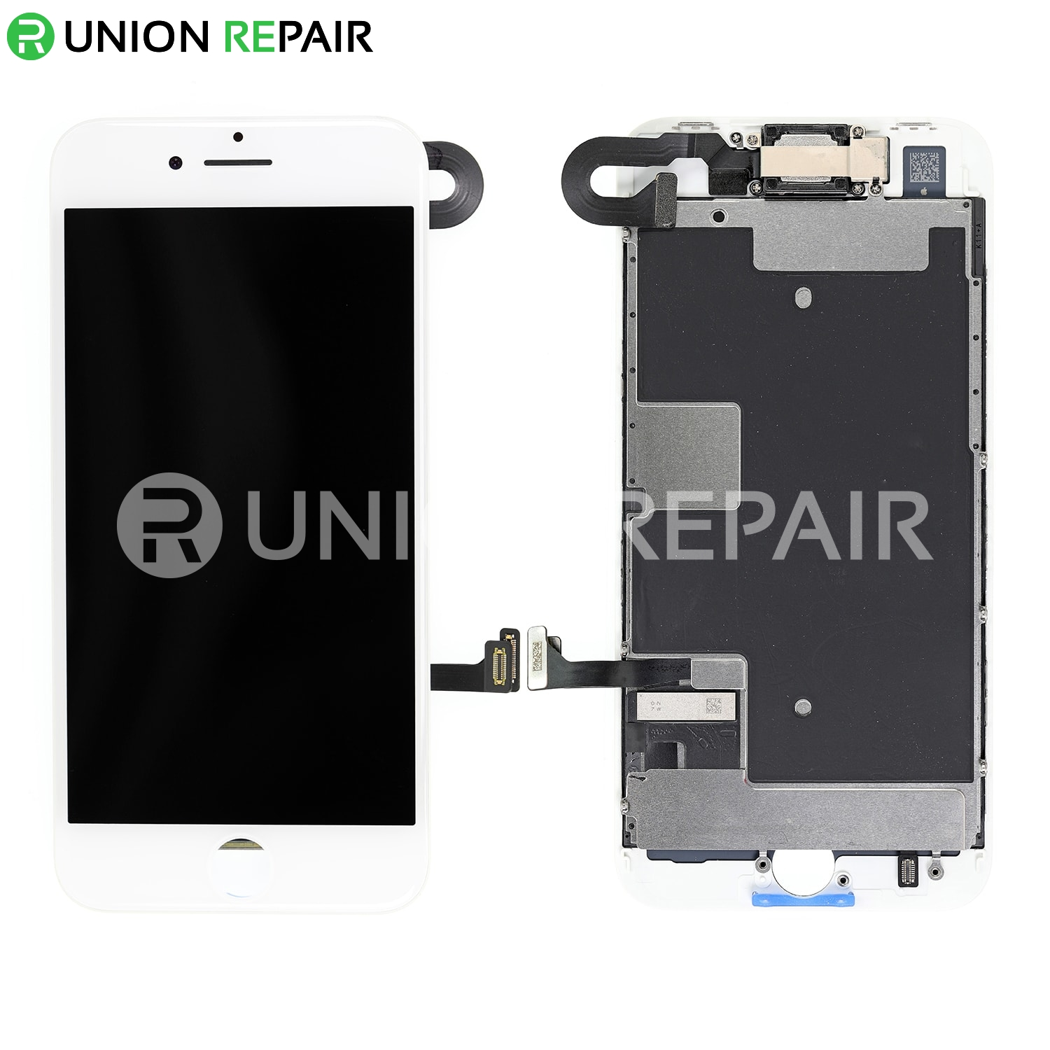 huge selection of 4ec56 62025 Replacement for iPhone 8 LCD Screen Full Assembly without Home Button -  White