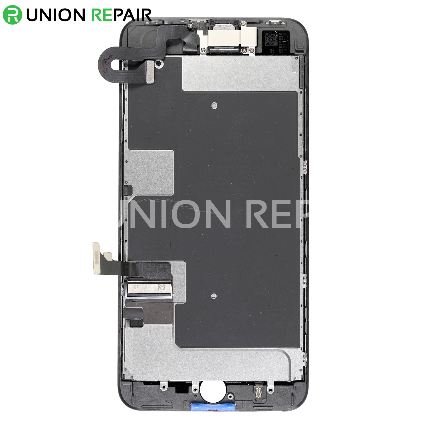 cheap for discount 1e1e5 871de Replacement for iPhone 8 Plus LCD Screen Full Assembly without Home Button  - Black