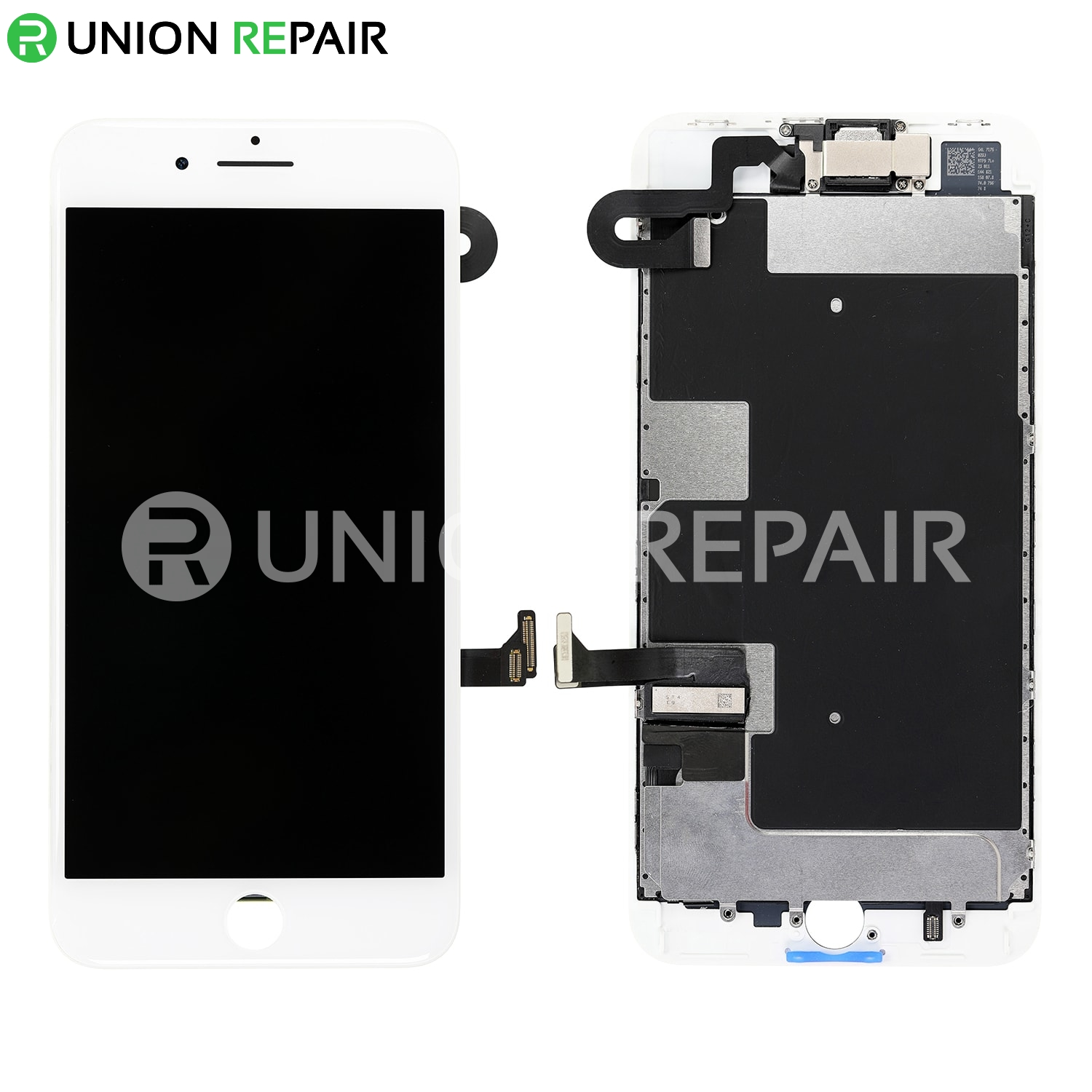innovative design 86adc 1f71f Replacement for iPhone 8 Plus LCD Screen Full Assembly without Home Button  - White