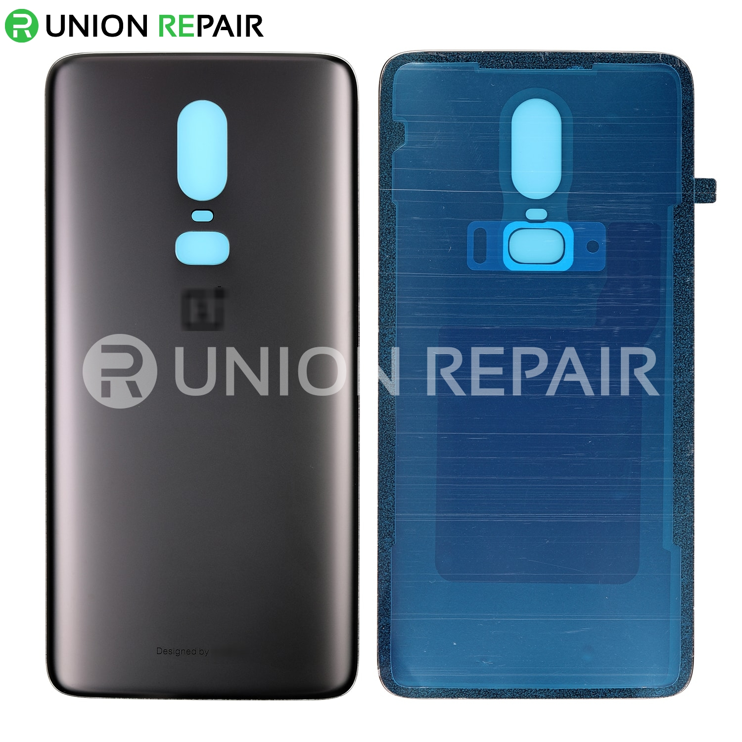 new concept 67bf8 50de2 Replacement for OnePlus 6 Back Cover - Midnight Black