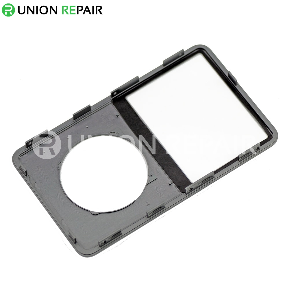 Replacement For iPod Classic Front Cover Charcoal