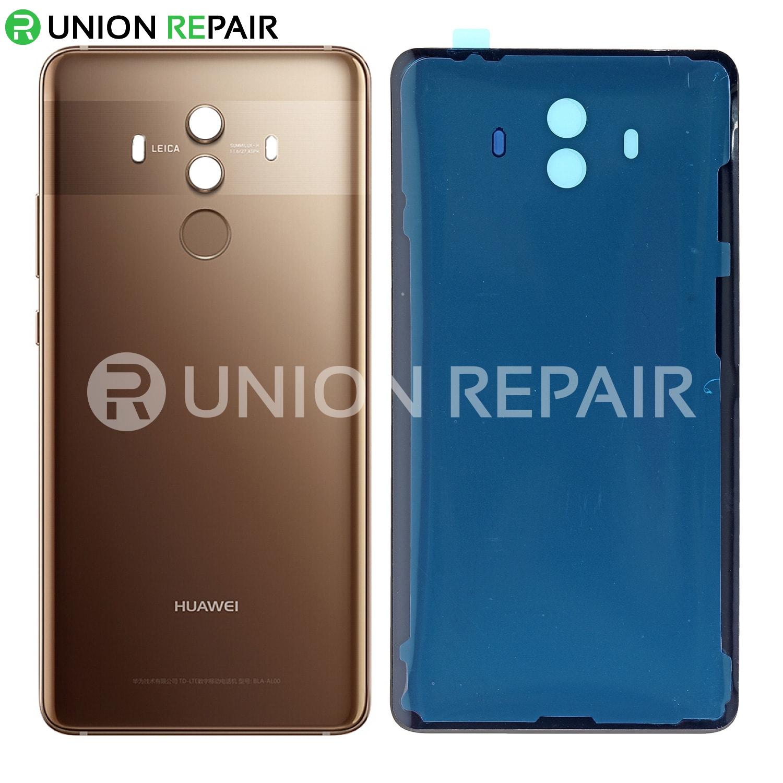 Replacement for Huawei Mate 10 Battery Door - Mocha Brown