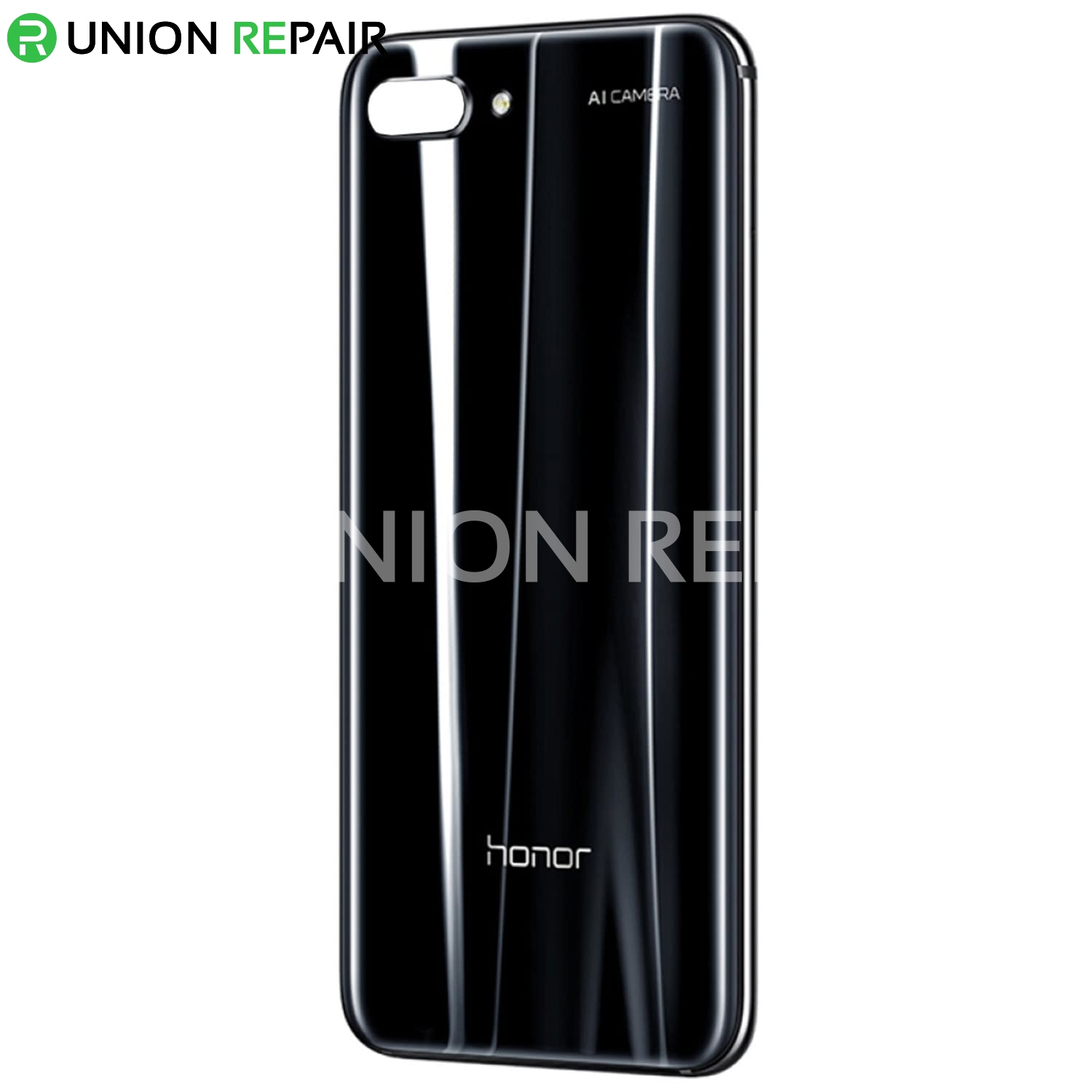 Replacement for Huawei Honor 10 Battery Door with Adhesive - Midnight Black