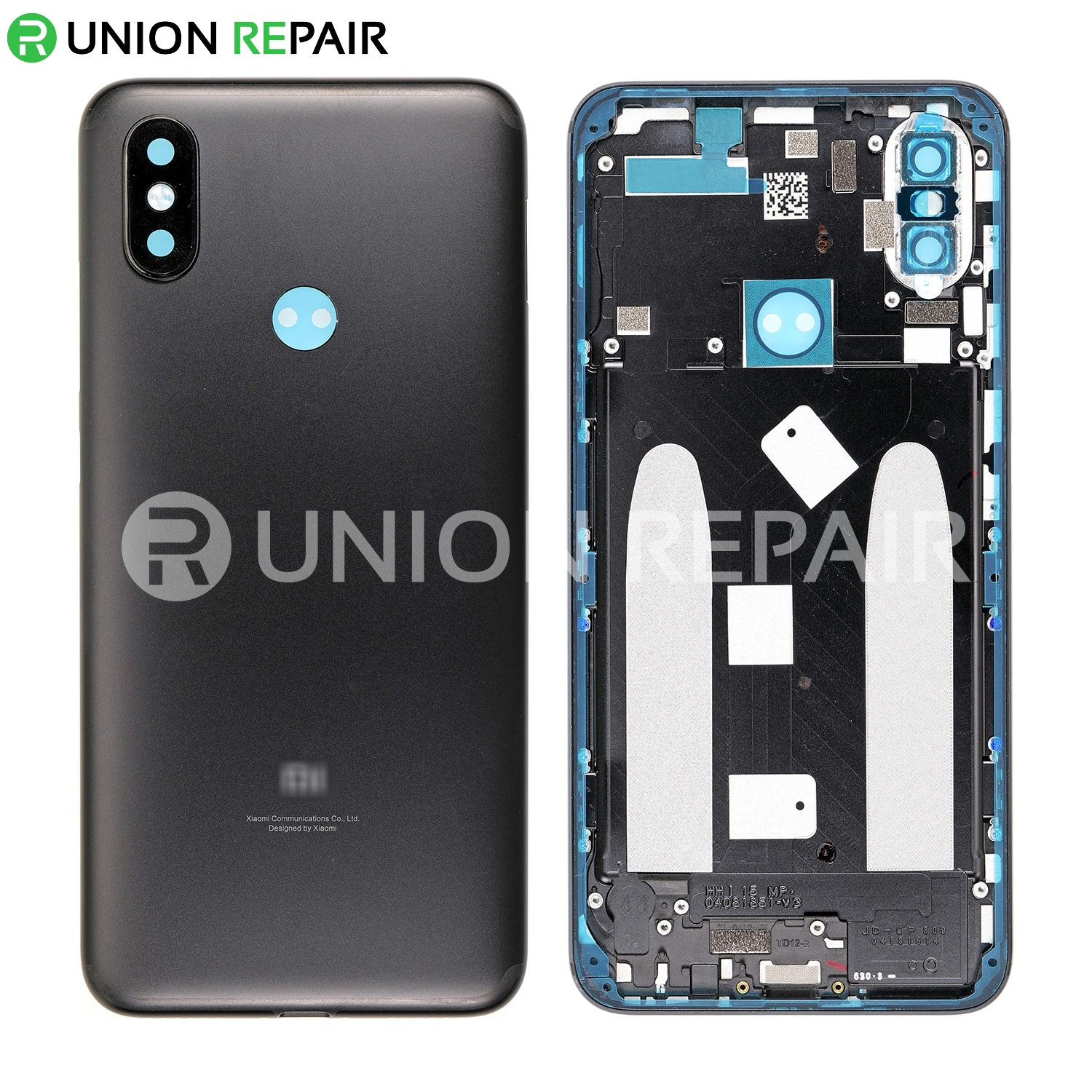 Replacement for XiaoMi 6X Back Cover - Black
