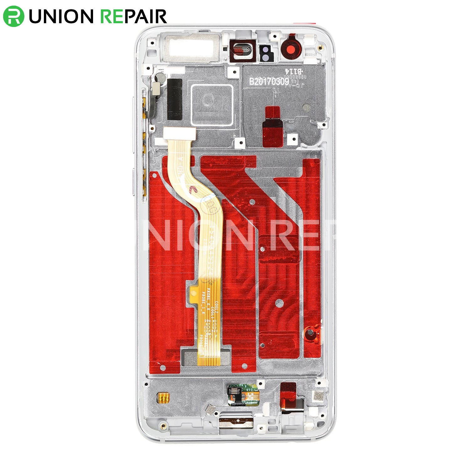 Replacement for Huawei Honor 9 LCD Screen Digitizer with Frame - Glacier Grey