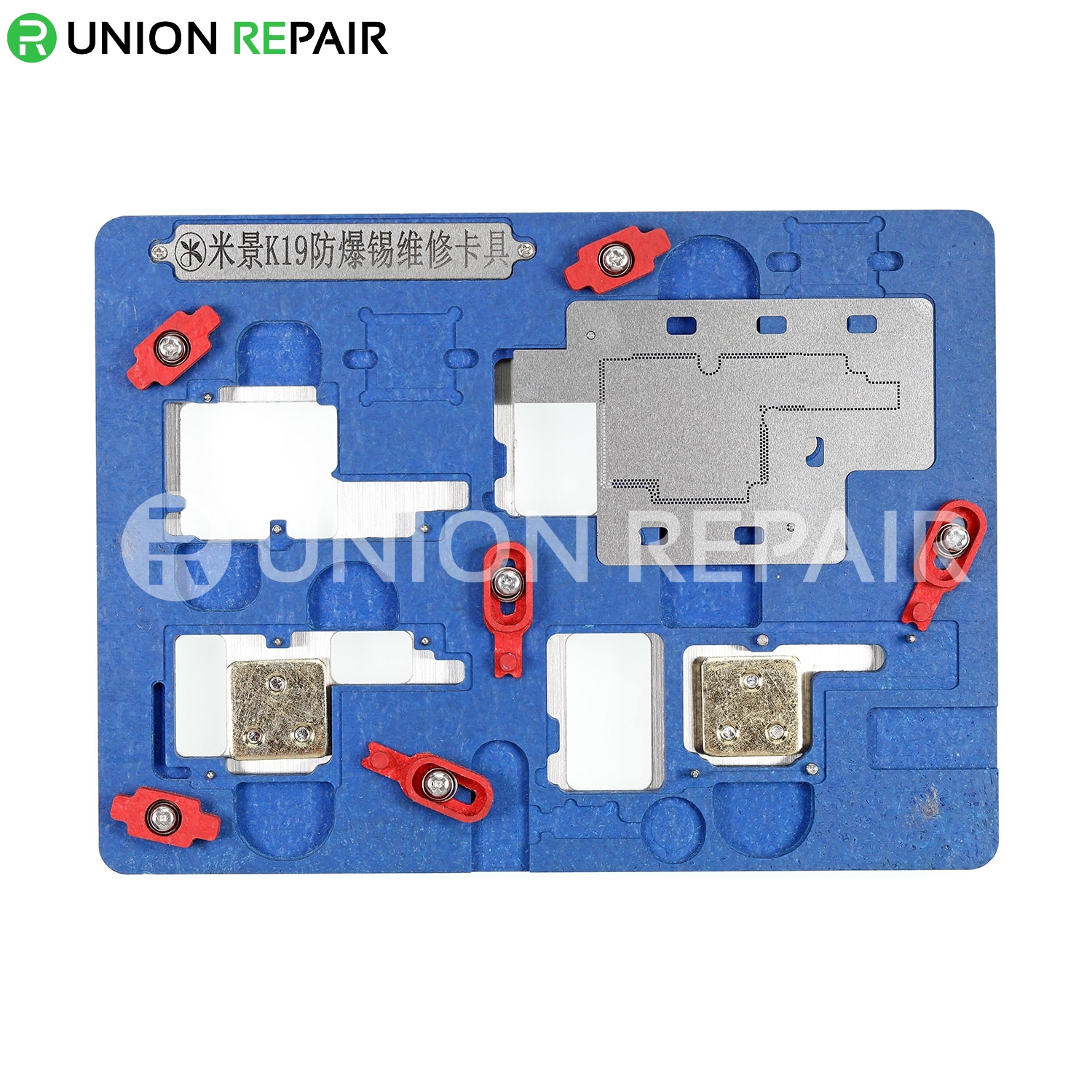 MiJing K19 Explosion-proof Motherboard Repair PCB Holder for iPhone X