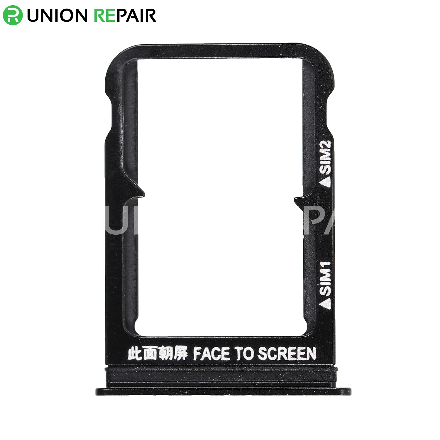 Replacement for Xiaomi 8 SIM Card Tray - Black