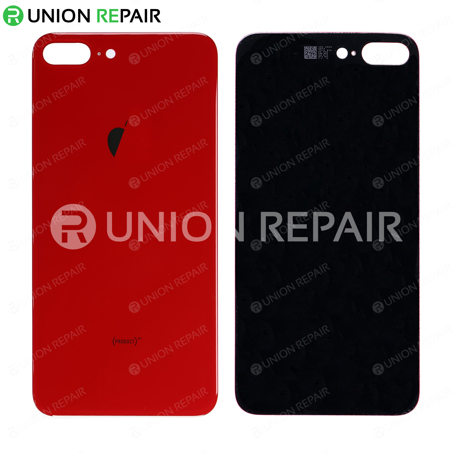 Replacement For iPhone 8 Plus Back Cover , Red