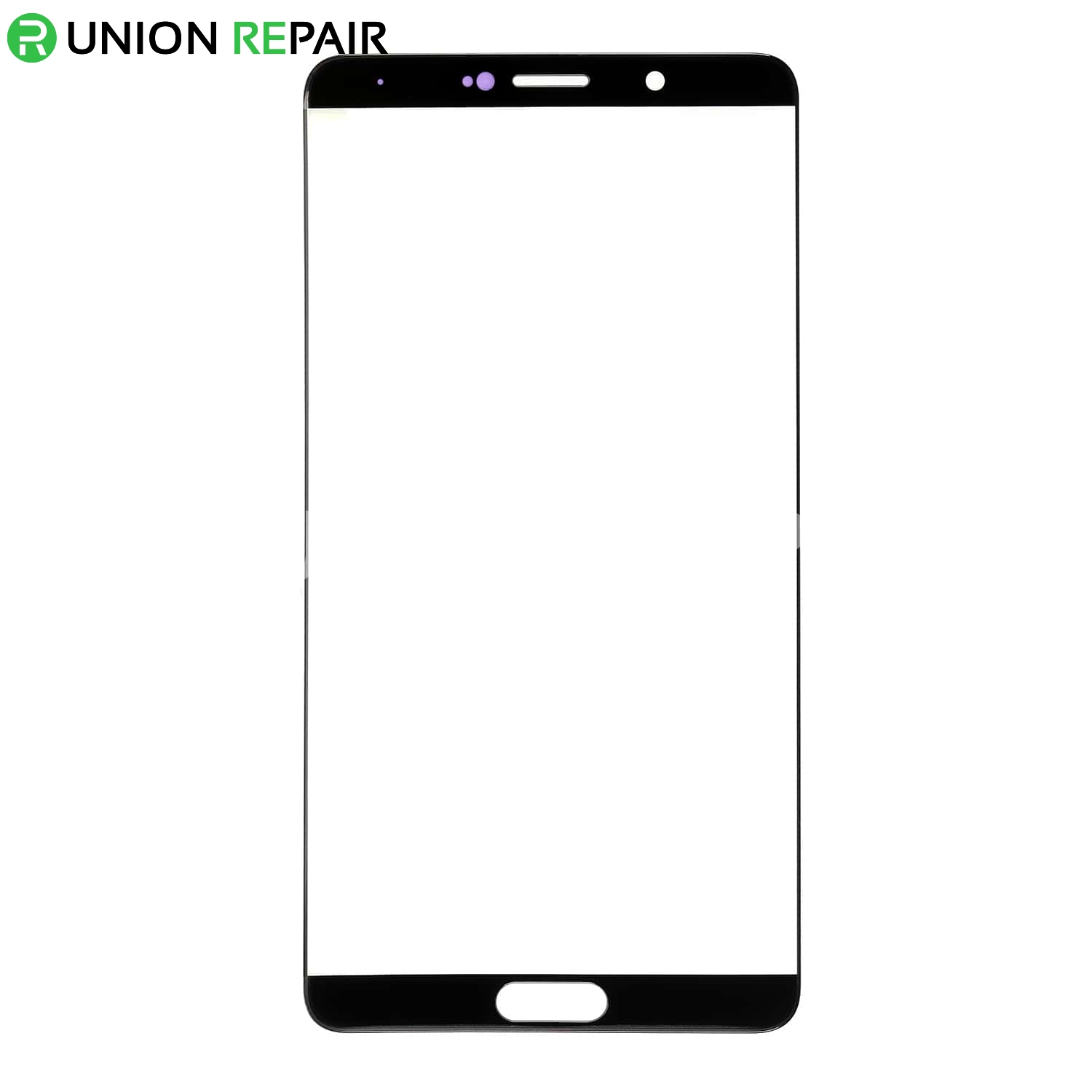 Replacement for Huawei Mate 10 Front Glass - Black, fig. 1