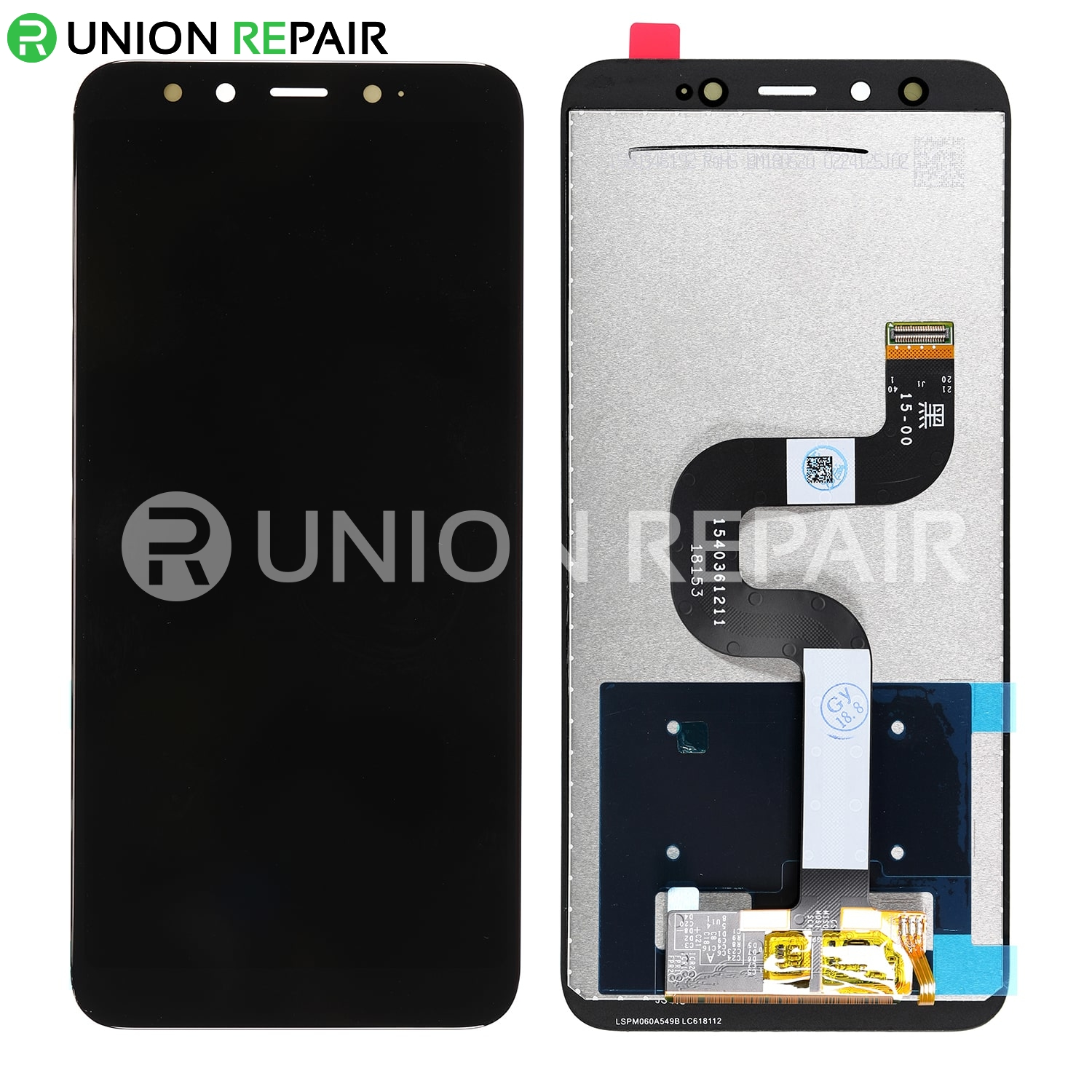 Replacement for XiaoMi 6X LCD Screen Digitizer - Black