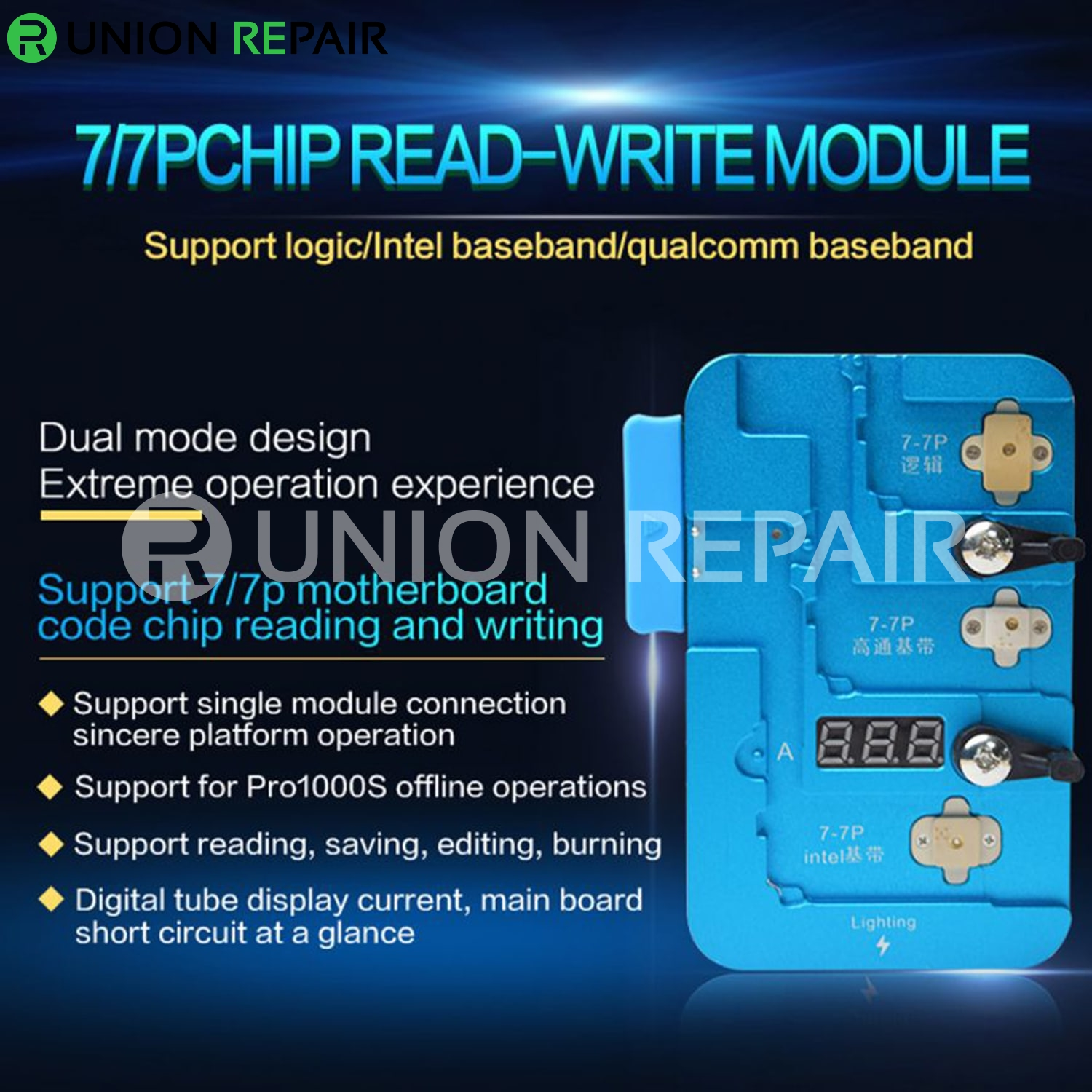 JC iPhone 7/ 7P Baseband EEPROM Chip Non-Removal Repair Tool