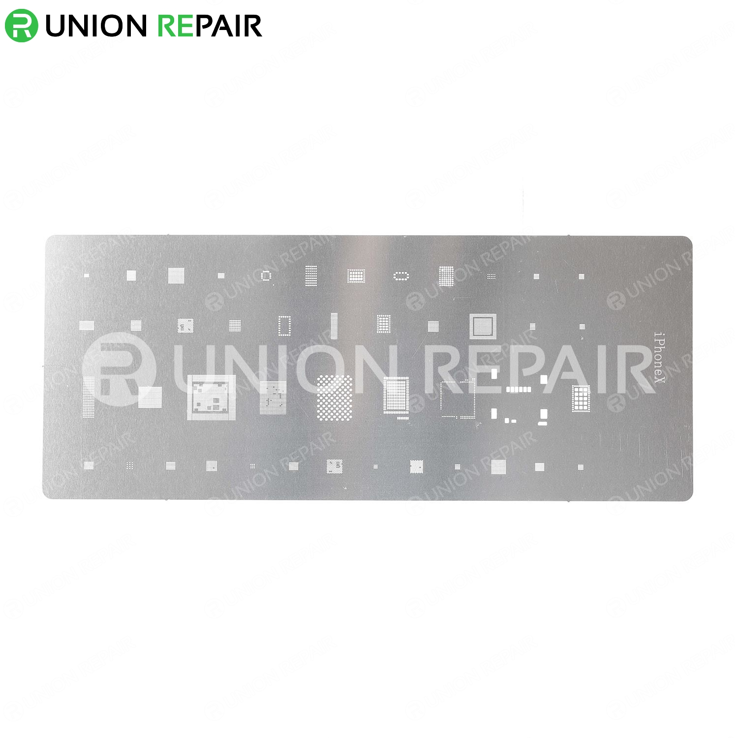 Economical BGA Reballing Stencil Template for iPhone Series, Type: For iPhone X