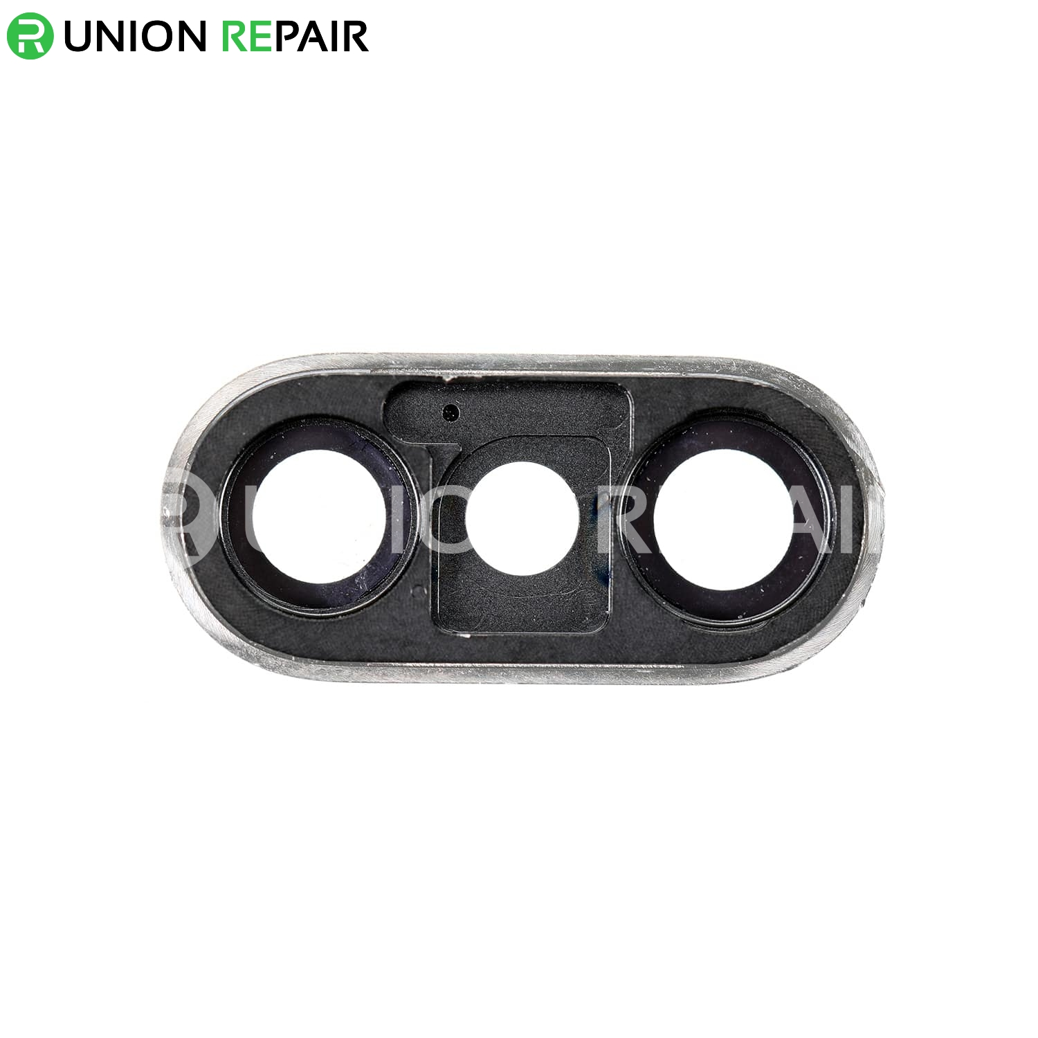 Replacement for iPhone Xs/Xs Max Rear Facing Camera Lens with Bezel - Silver