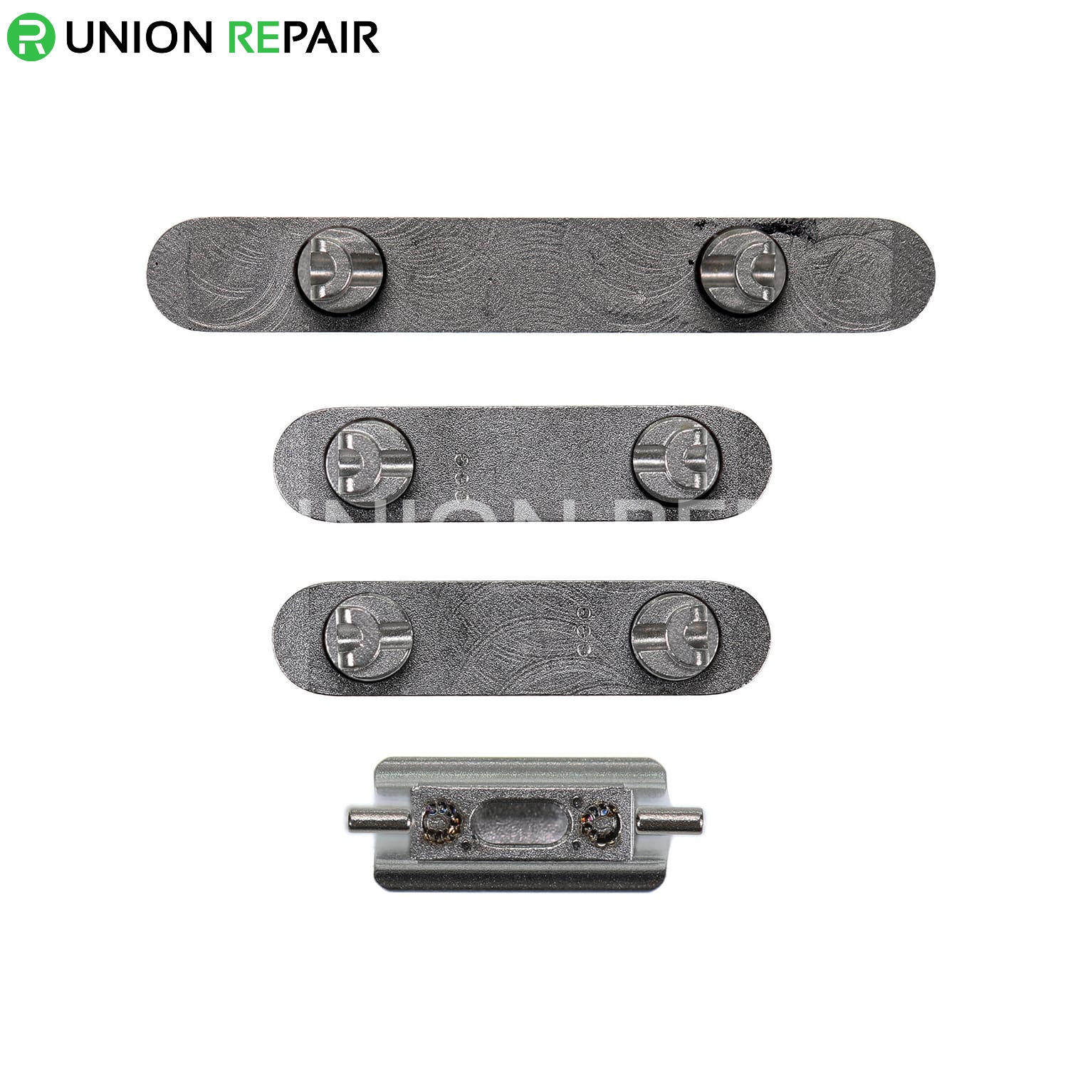 Replacement for iPhone Xs Max Side Buttons Set - Space Gray