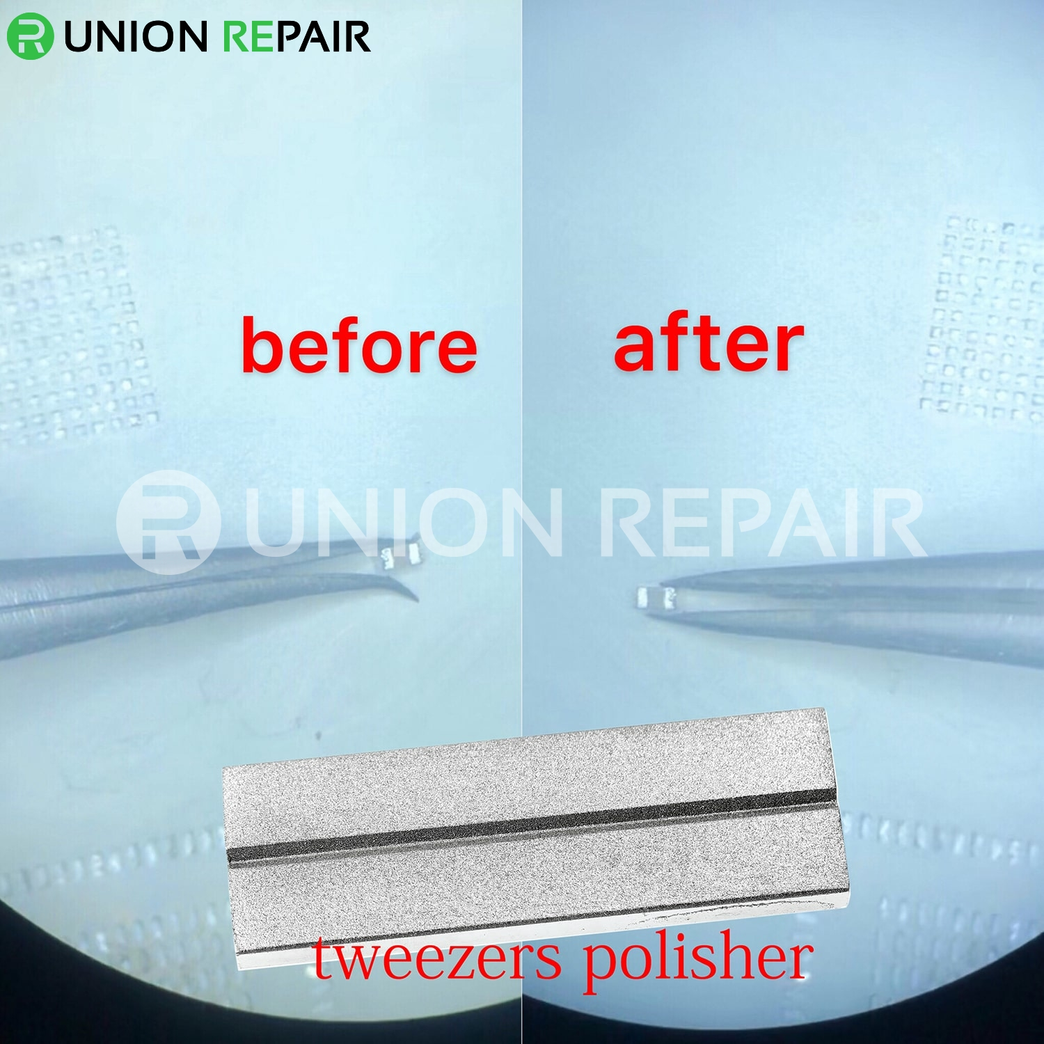 Tweezers Correction Polish Station