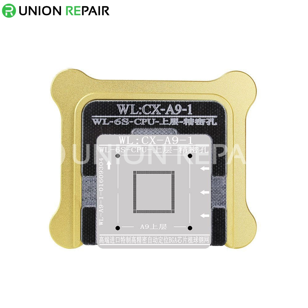 WL BGA Reballing Fixture Kit for A9 CPU Upper Lower, Type: A9-1 Upper