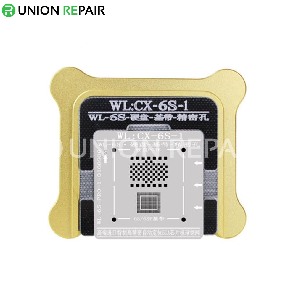 WL NAND Baseband BGA Stencil With Magnetic Holder for iPhone 5/5S/6/6P/6S/6SP/7/7P