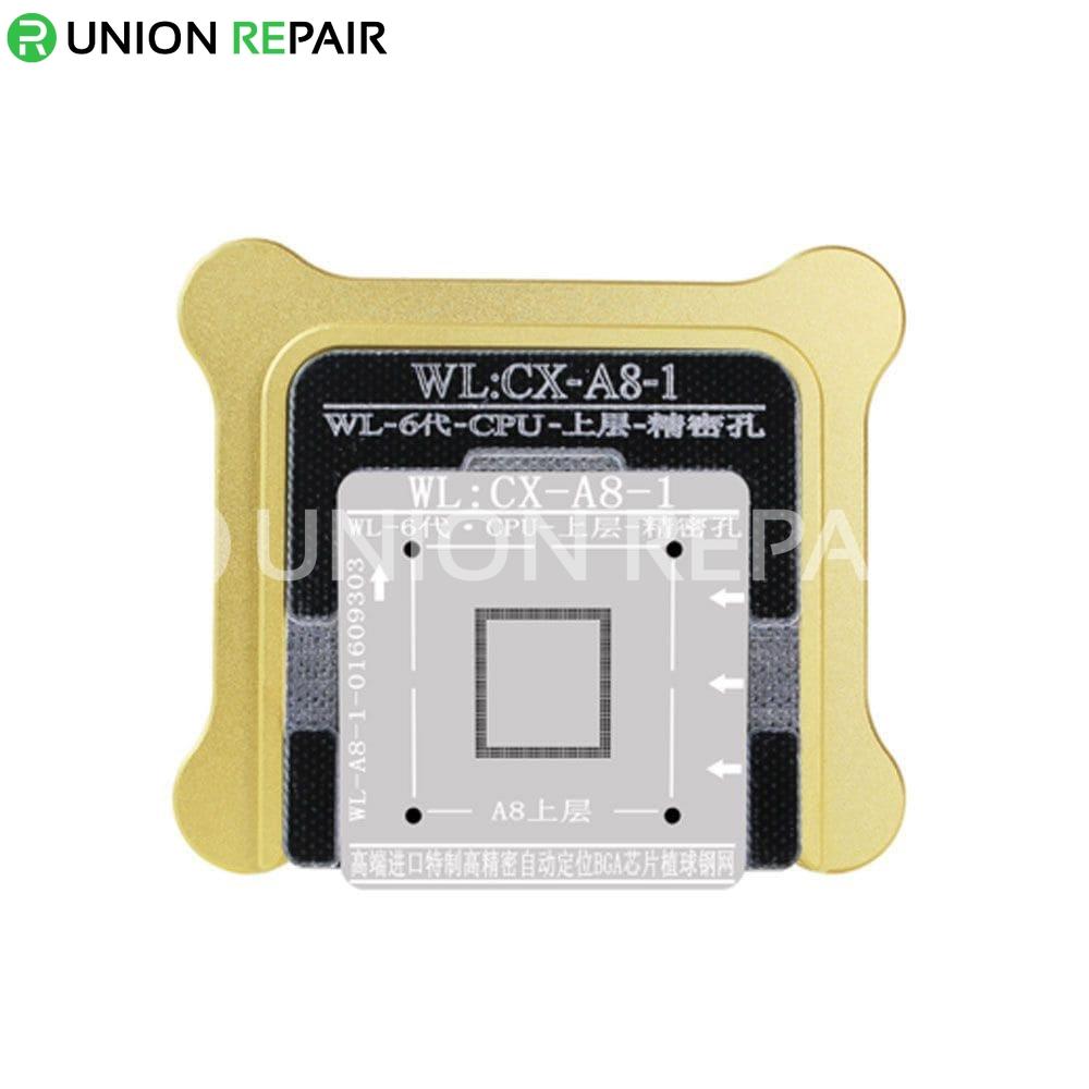 WL BGA Reballing Fixture Kit for A8 CPU Upper Lower, Type: A8-1 Upper