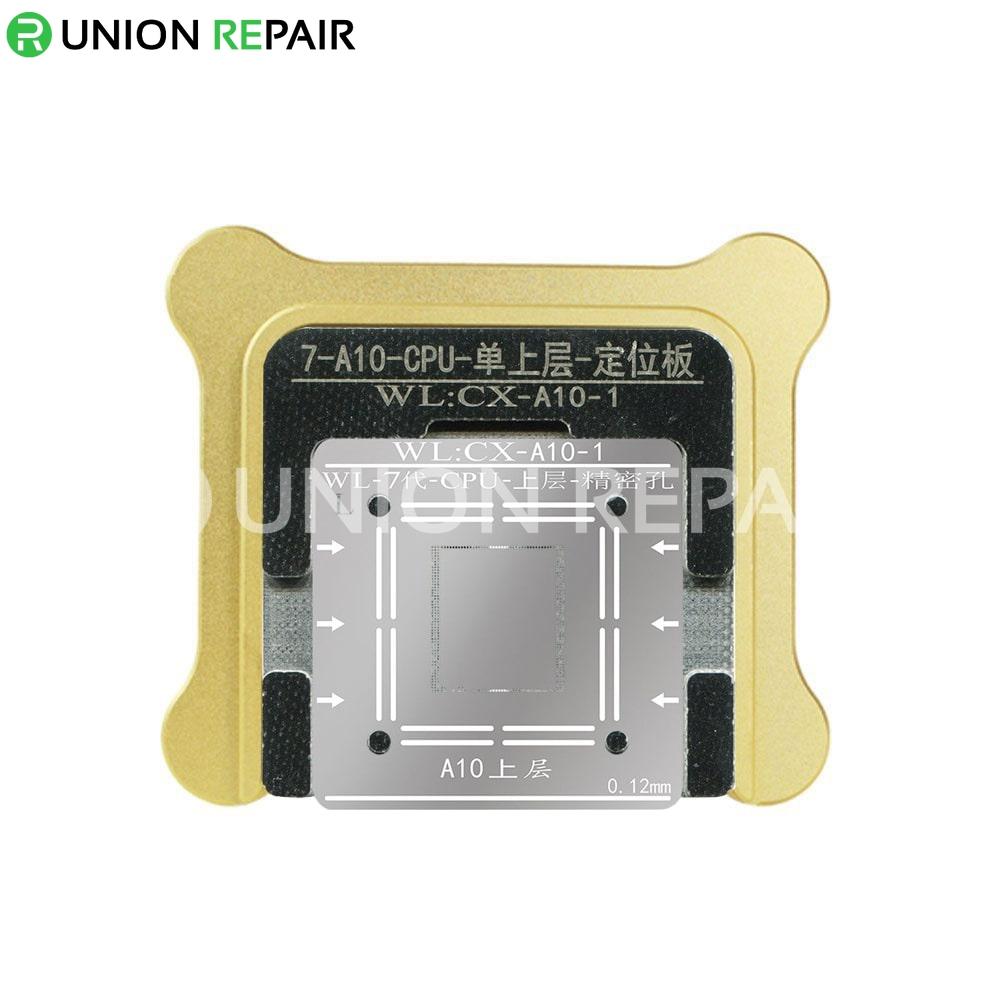 WL BGA Reballing Fixture Kit for A10 iPhone 7/7P CPU Upper Lower, Type: A10-1 Upper