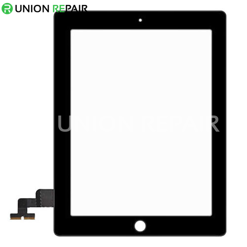 Replacement for iPad 2 Touch Screen Black