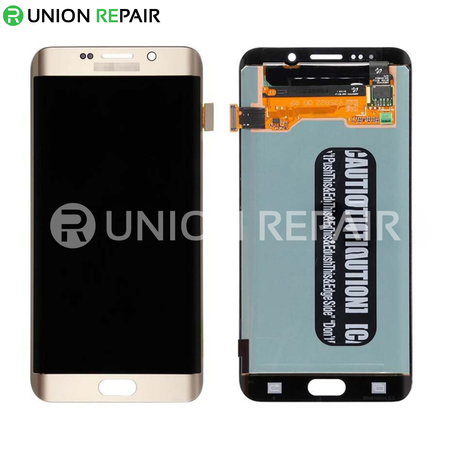 Replacement for Samsung Galaxy S6 Edge Plus SM-G928 Series LCD Screen with  Digitizer Assembly - Gold