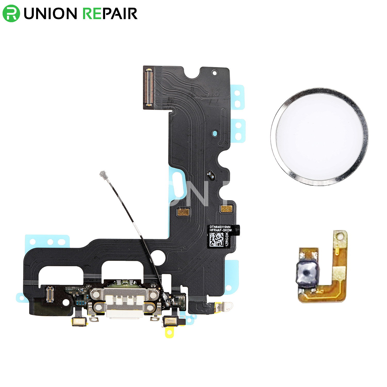 New Charging Dock Flex Cable with Home Button Return Solution for iPhone 7