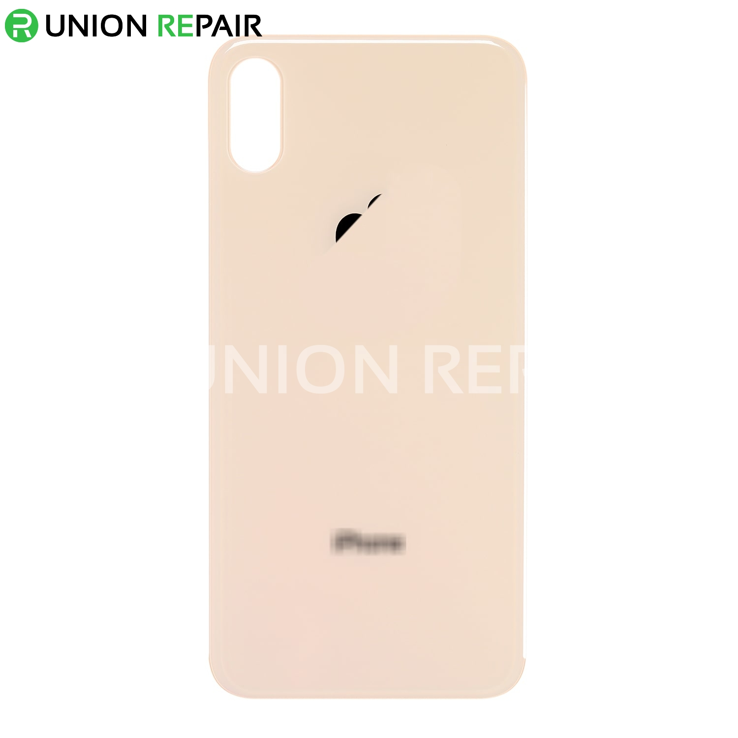 Replacement for iPhone Xs Back Cover - Gold