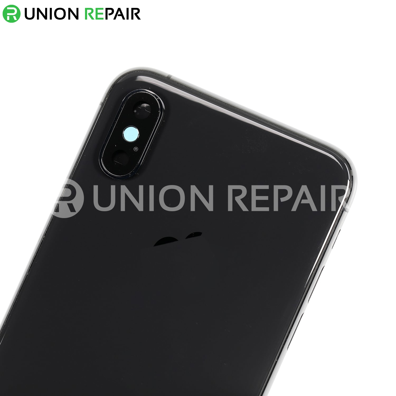 Replacement for iPhone Xs Rear Housing with Frame - Space Gray