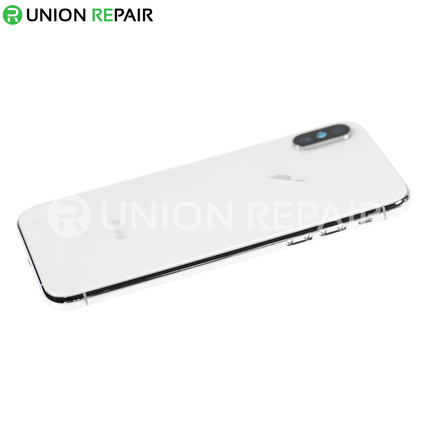 Replacement for iPhone Xs Rear Housing with Frame - Silver