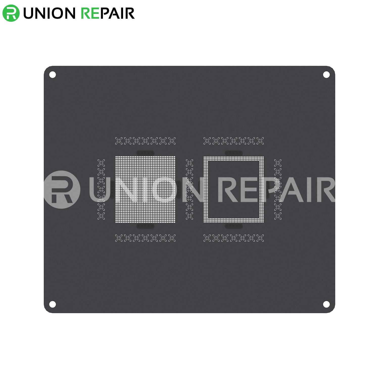 QianLi ToolPlus 3D iBlack iPhone CPU Module BGA Reballing Black Stencil, Type: For A7 5S Q3
