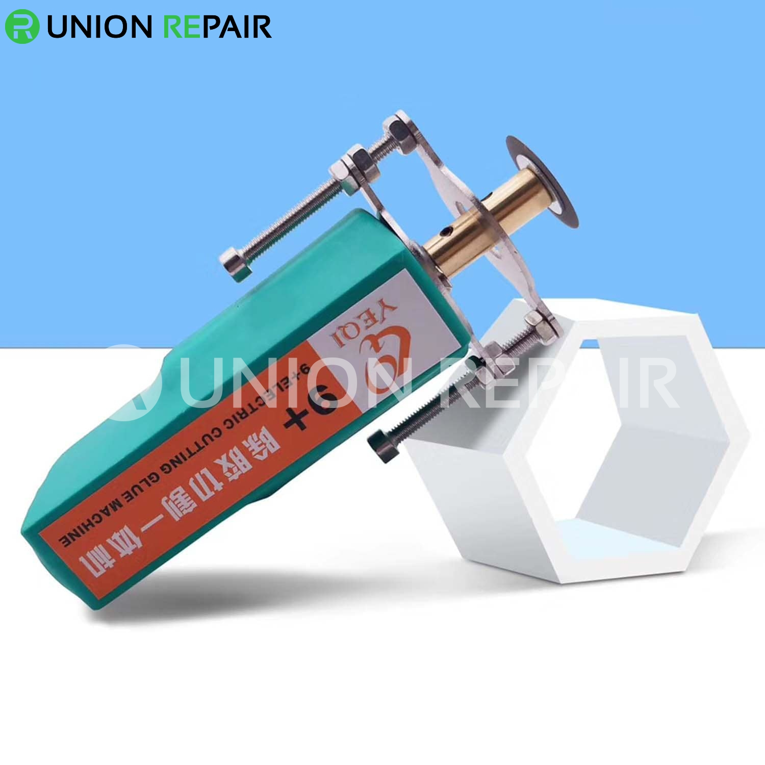 YeQi 9+ Ample Power Cutting Glue Remover Machine