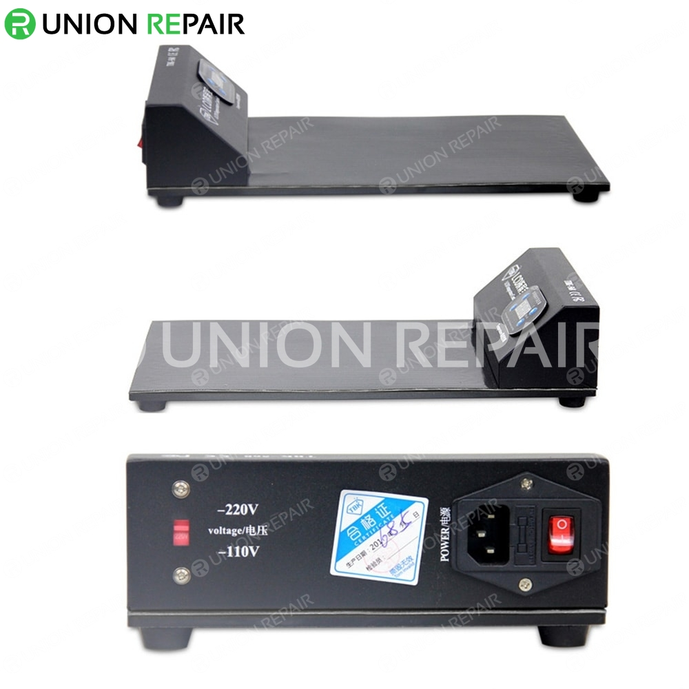 TBK Screen Heating Station Switchable 110V/220V, Type: TBK-568 Black