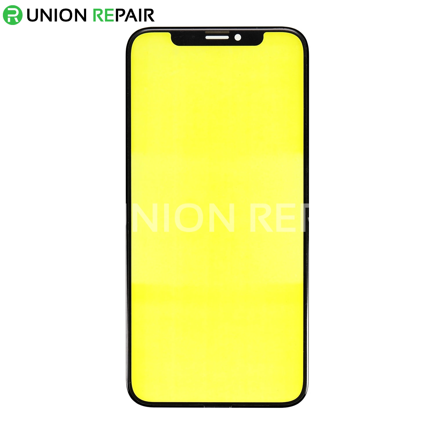 Replacement for iPhone Xs Front Glass Lens - Black
