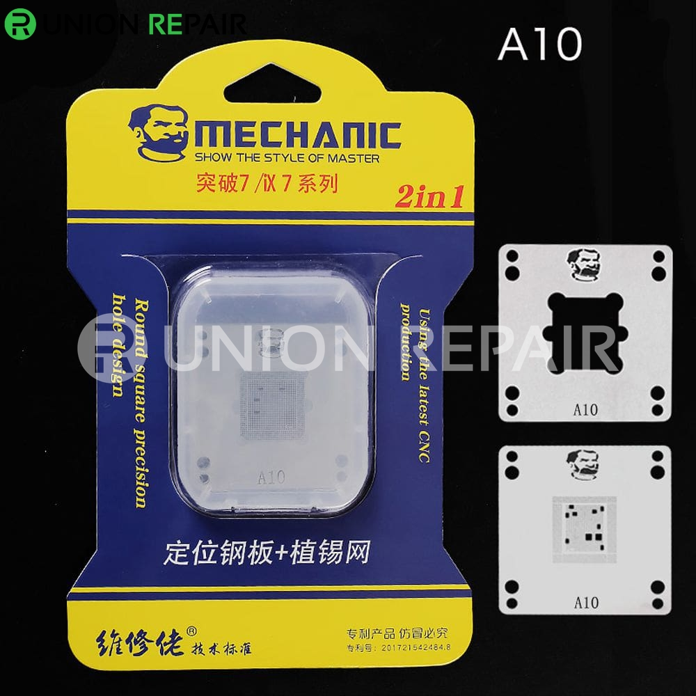 Mechanic IX7 220V Mini Thermostat Remove Welding Platform for CPU A8 A9 A10 A11 A12, Condition: A10 Positioning Plate Stencil