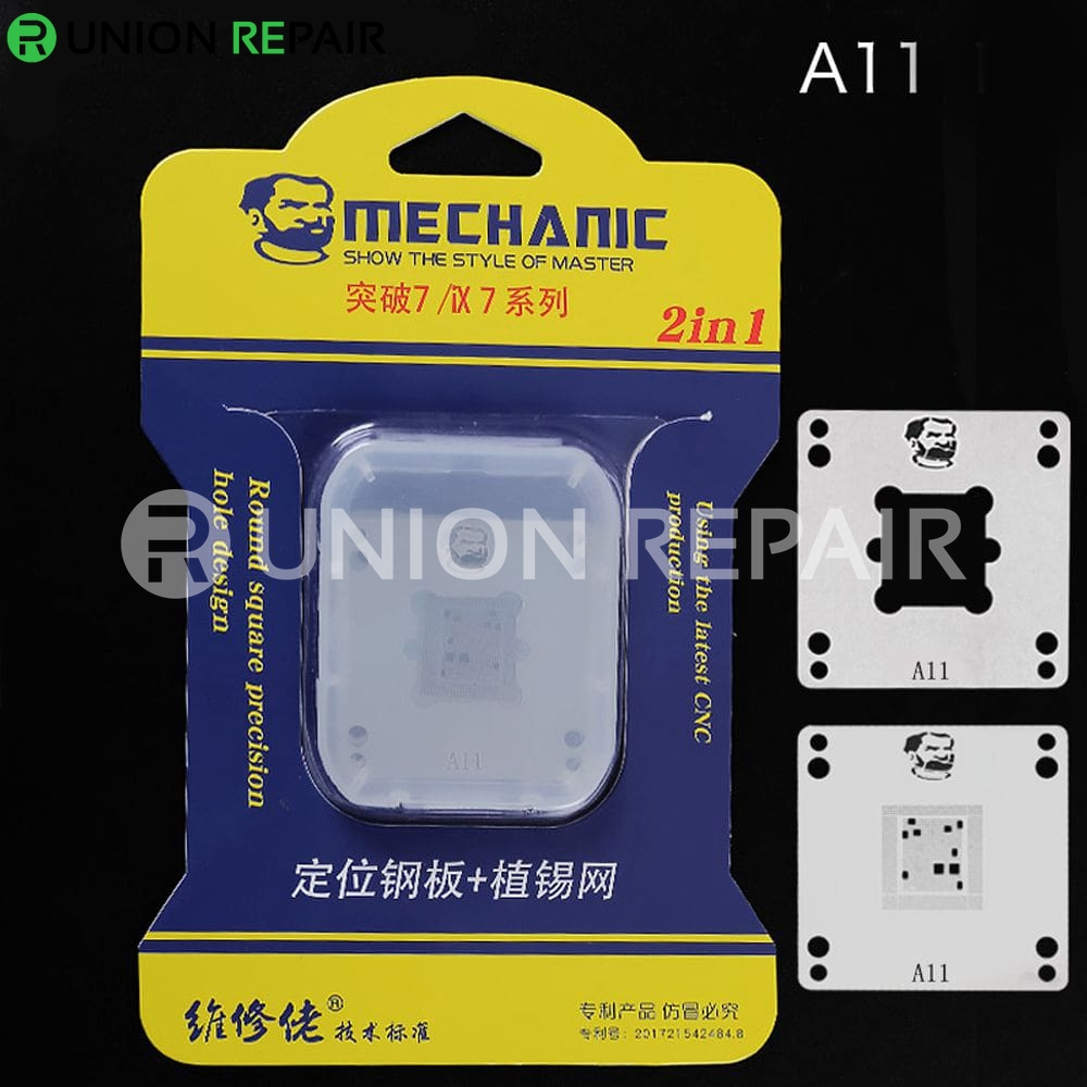 Mechanic IX7 220V Mini Thermostat Remove Welding Platform for CPU A8 A9 A10 A11 A12, Condition: A11 Positioning Plate Stencil