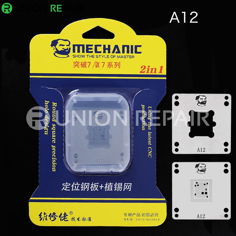 Mechanic IX7 220V Mini Thermostat Remove Welding Platform for CPU A8 A9 A10 A11 A12, Condition: A12 Positioning Plate Stencil