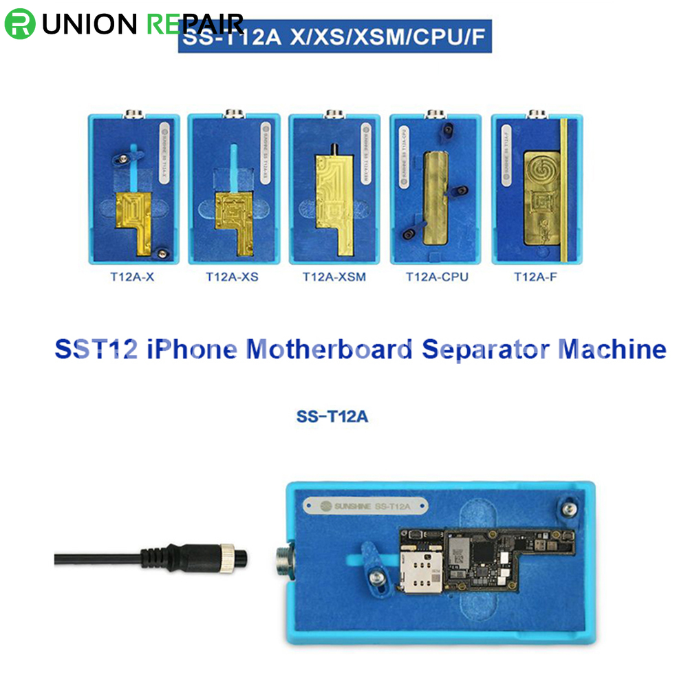 SS-T12A Mainboard CPU Desoldering Heating Station for iPhone X/XS/XS Max, Condition: SS-T12A Main Unit