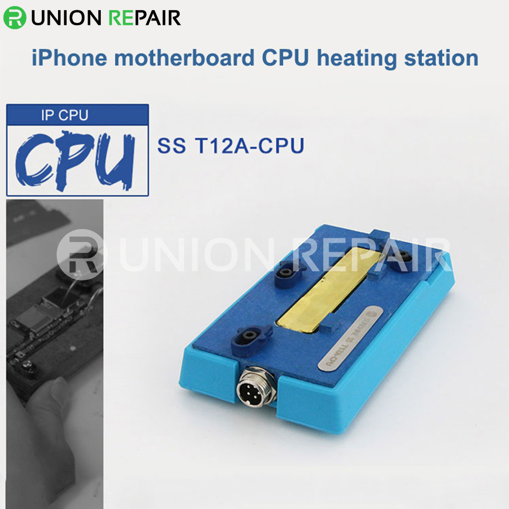SS-T12A Mainboard CPU Desoldering Heating Station for iPhone X/XS/XS Max, Condition: T12A-CPU Groove