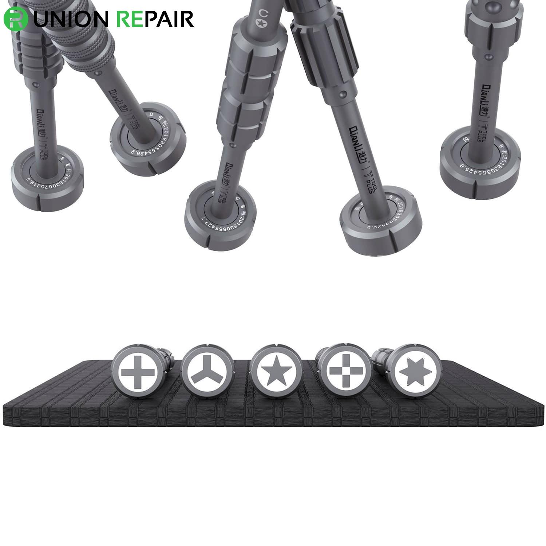 ToolPlus iThor Upmarket 3D Screwdriver, Type: 2.0mm Convex Cross