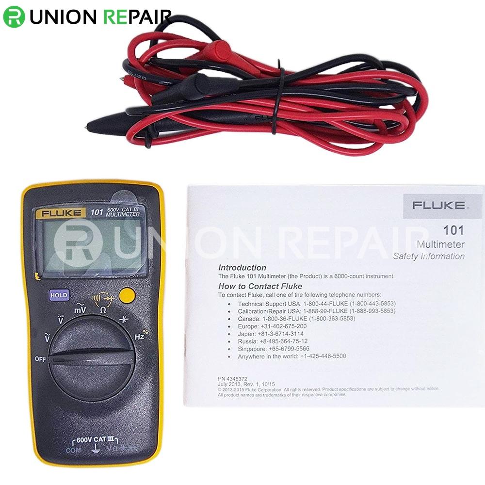 Fluke 101 Digital Multimeter/i400E Clamp Kit