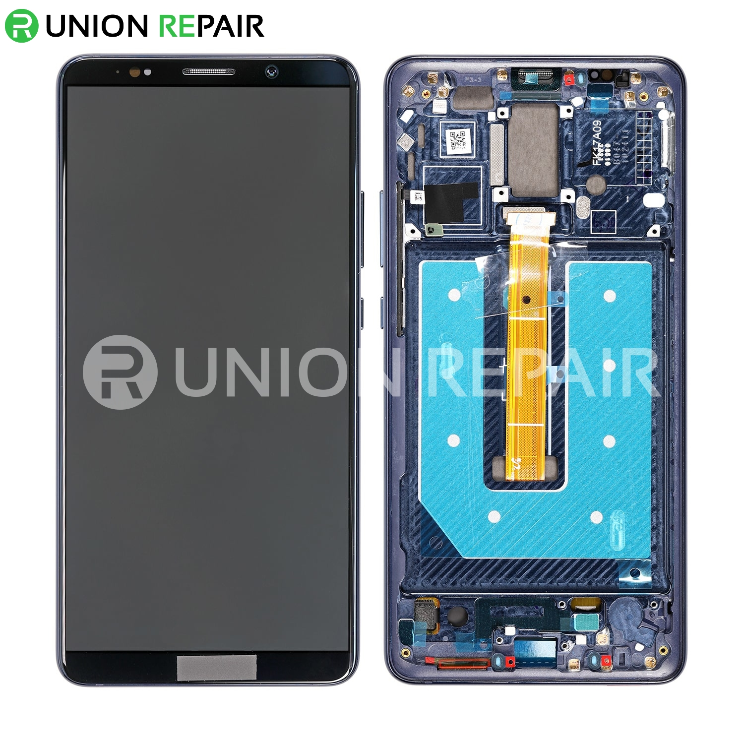 Replacement For Huawei Mate 10 Pro Lcd Screen Digitizer Assembly With Frame Midnight Blue