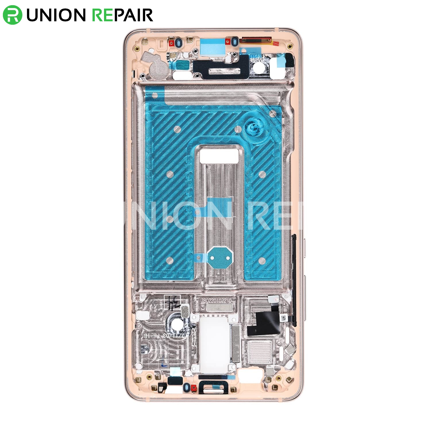 Replacement for Huawei Mate 10 Pro Front Housing LCD Frame Bezel Plate - Pink Gold