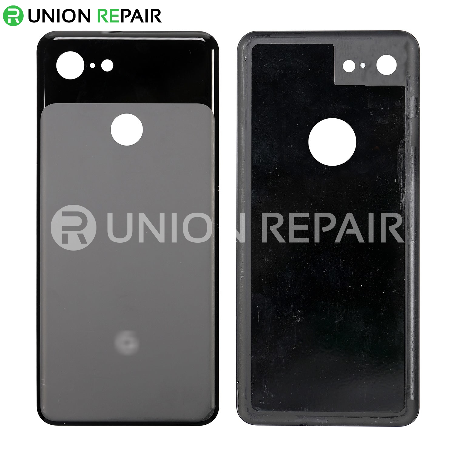 Replacement for Google Pixel 3 Back Cover - Black